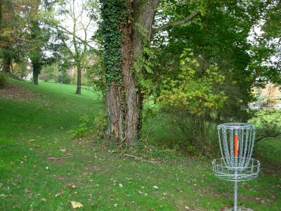 Muskingum College, Main course, Hole 5 Reverse (back up the fairway)
