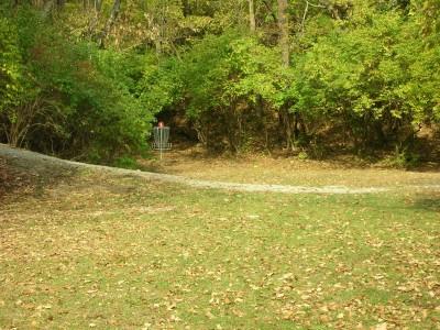 Miami University, Main course, Hole 6 Midrange approach