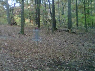 Veterans Memorial Park, Mike Broda Memorial DGC, Hole 14 Putt