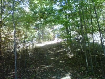 Veterans Memorial Park, Mike Broda Memorial DGC, Hole 11 Tee pad