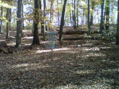 Veterans Memorial Park, Mike Broda Memorial DGC, Hole 13 Putt