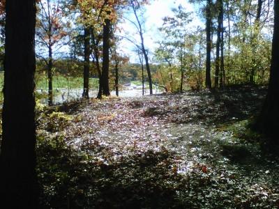 Veterans Memorial Park, Mike Broda Memorial DGC, Hole 18 Tee pad