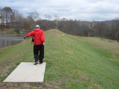 Forked Run State Park, Main course, Hole 17 Tee pad