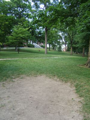 Wittenberg University, Main course, Hole 2 Tee pad