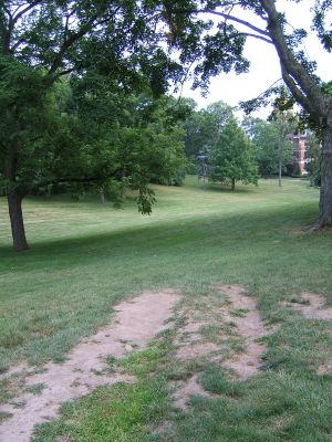 Wittenberg University, Main course, Hole 4 Tee pad