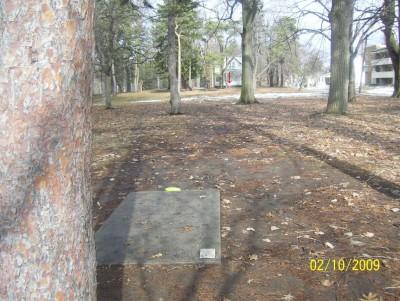 Ottawa Park, Main course, Hole 14 Short tee pad