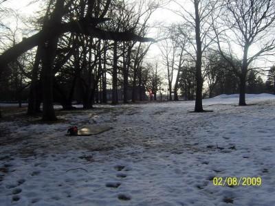 Ottawa Park, Main course, Hole 3 Long tee pad