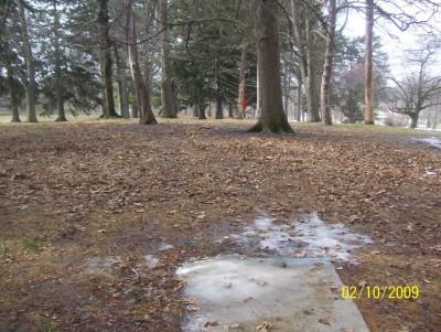 Ottawa Park, Main course, Hole 17 Long tee pad