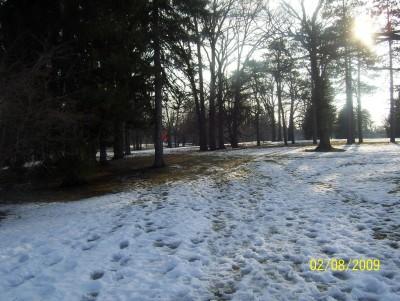 Ottawa Park, Main course, Hole 6 Short tee pad
