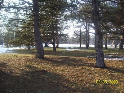 Ottawa Park, Main course, Hole 9 Long tee pad
