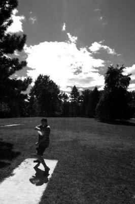 Ottawa Park, Main course, Hole 2 Long tee pad