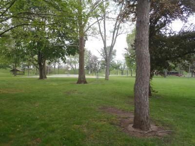 Community Park, Main course, Hole 1 Short approach