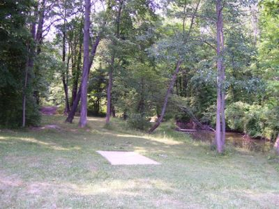 Clarence Darrow Park (Young's Run), Main course, Hole 5A Short tee pad