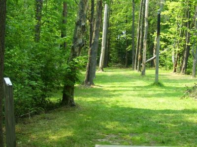 Clarence Darrow Park (Young's Run), Main course, Hole 3 Long tee pad