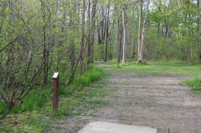 Clarence Darrow Park (Young's Run), Main course, Hole 10 Tee pad
