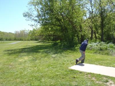 Williamsburg Park, Main course, Hole 5 Tee pad