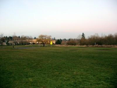 Greenway Park, Main course, Hole 9 Tee pad