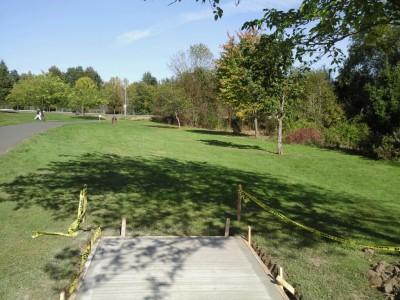 Greenway Park, Main course, Hole 2 Tee pad