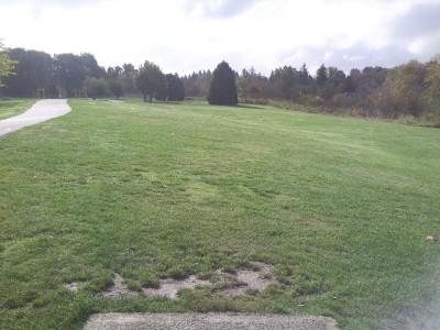 Greenway Park, Main course, Hole 3 Tee pad