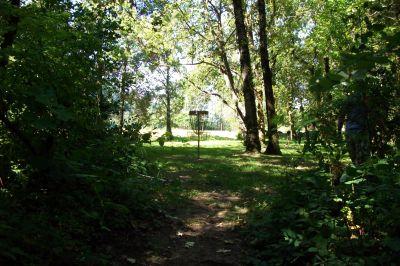 Benson State Park, Main course, Hole 2 Short approach