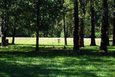 Benson State Park, Main course, Hole 4 Long approach