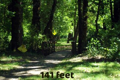 Benson State Park, Main course, Hole 8 Long approach