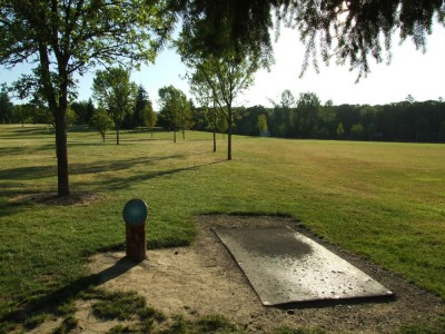 Adair Park, Main course, Hole 12 Tee pad