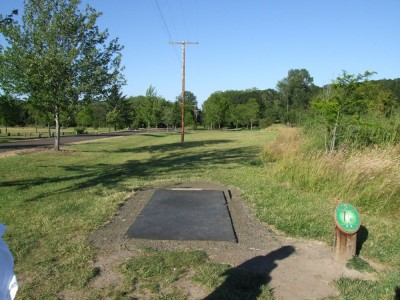 Adair Park, Main course, Hole 5 Tee pad