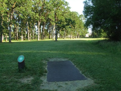 Adair Park, Main course, Hole 15 Tee pad