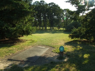 Adair Park, Main course, Hole 14 Tee pad