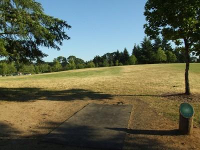 Adair Park, Main course, Hole 13 Tee pad