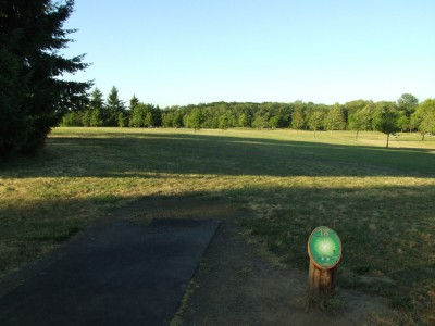 Adair Park, Main course, Hole 18 Tee pad