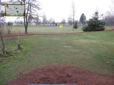 Westmoreland, Main course, Hole 4 Tee pad