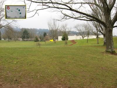 Westmoreland, Main course, Hole 6 Tee pad