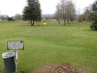 Westmoreland, Main course, Hole 7 Tee pad