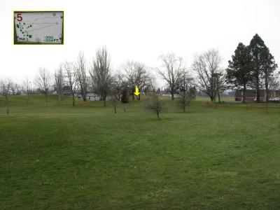 Westmoreland, Main course, Hole 5 Tee pad