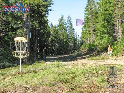 Mt. Hood Ski Bowl, Main course, Hole 3 Short approach