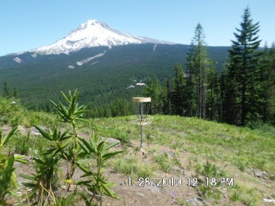 Mt. Hood Ski Bowl, Main course, Hole 7 Short approach