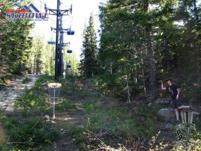 Mt. Hood Ski Bowl, Main course, Hole 2 Putt