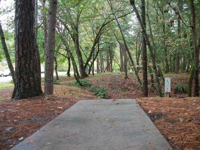 Tom Pearce Park, Main course, Hole 6 Long tee pad