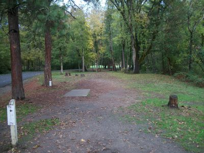 Tom Pearce Park, Main course, Hole 4 Long tee pad