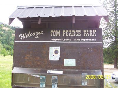 Tom Pearce Park, Main course, Hole 1