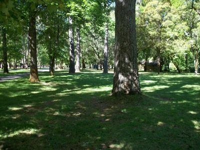 Indian Mary Park, Main course, Hole 9 Tee pad