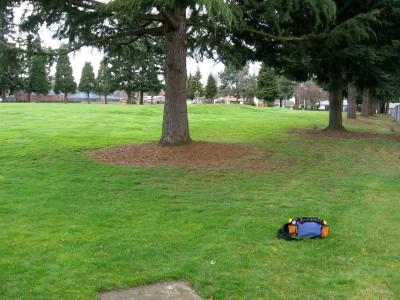 Portland Adventist Elementary School, Main course, Hole 1 Tee pad