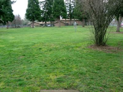 Portland Adventist Elementary School, Main course, Hole 5 Tee pad