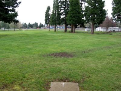 Portland Adventist Elementary School, Main course, Hole 6 Tee pad