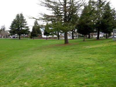 Portland Adventist Elementary School, Main course, Hole 9 Tee pad