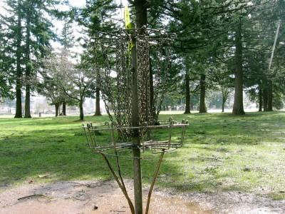 Rockwood Central Park, Main course, Hole 8 Putt