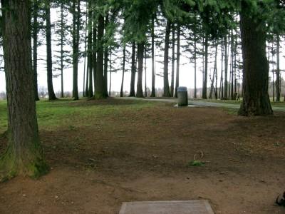Vance Park, Main course, Hole 4 Tee pad