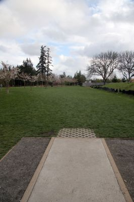 Orchard Park, Main course, Hole 3 Tee pad
